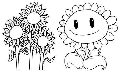 gambar bunga untuk mewarnai anak paud