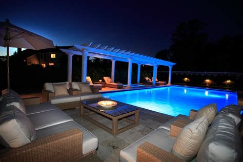 low voltage pool light outdoor living spaces gallery lakeland landscaping