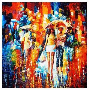 Tableau Peinture Pas Cher : tableau peinture l 39 huile pas cher decoration murale salon ~ Teatrodelosmanantiales.com Idées de Décoration