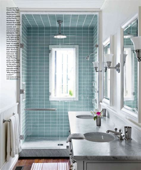 ideas   wainscoting subway tile   bathroom