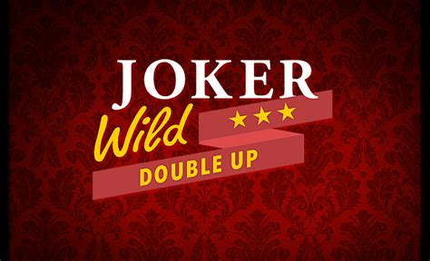Joker Wild Double Up Casino Game By Netent  Play Free Demo