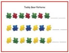 Teddy Bear Counter Pattern Printable
