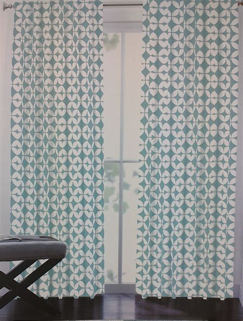 max studio home moroccan tiles window panels quatrefoil