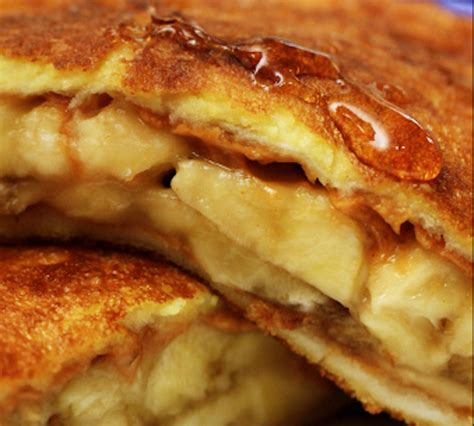 Banana Stuffed French Toast Recipe Food Republic