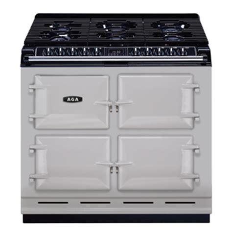 aga s series six four gas hob dual fuel conventional aga range cooker