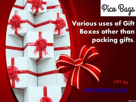 Various Uses Of Gift Boxes Other Than Packing Gifts