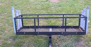 Rear Hitch Rack With Rod Holders