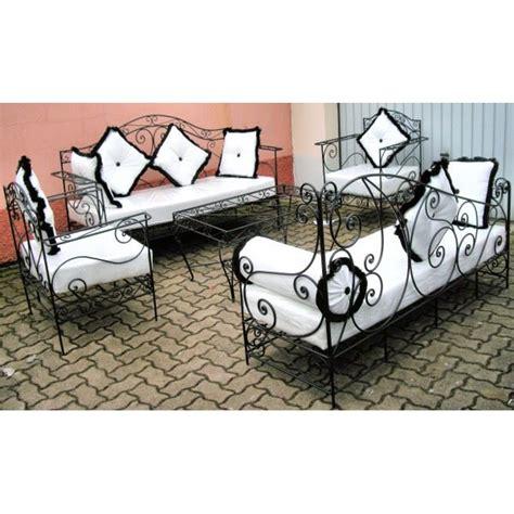 canapé sedari fauteuil de salon en fer forge