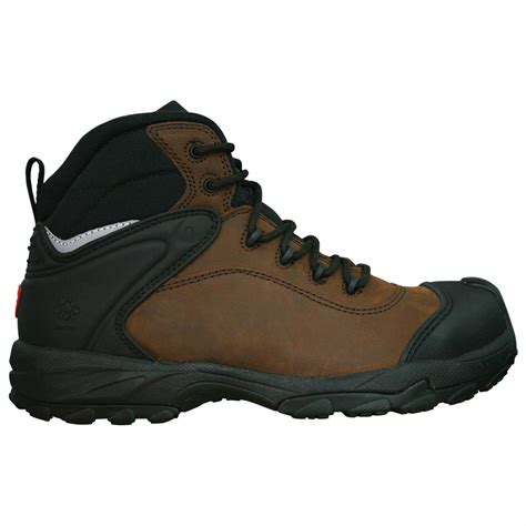 mens comfortable work boots s dawgs 174 6 quot ultralite comfort pro leather composite