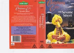 Christmas Eve On Sesame Street VHS