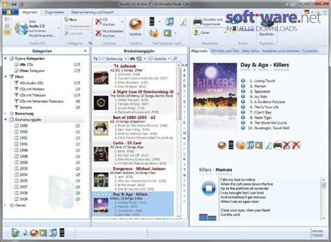audio cd archiv   windows deutsch