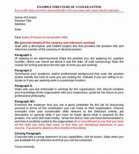 cover letter structure pertaminico With structure of a covering letter
