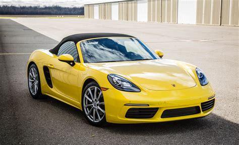red porsche boxster 2017 2017 porsche 718 boxster cars exclusive videos and