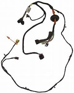 2009 Cadillac Xlr Left Side Lh Door Wire Harness For