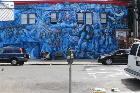100 in the mission murals are precita eyes