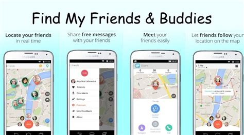 find my android friends locator android app to locations messages