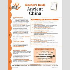 Ancient China  Kids Discover