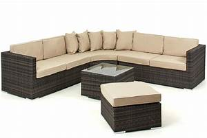lisbon 6 7 seater rattan corner sofa set With 9 seater sectional sofa
