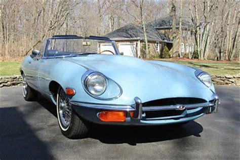 Light Blue Jaguar by Seller Of Classic Cars 1969 Jaguar E Type Light Blue