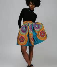 Ankara Skirts Styles for Ladies