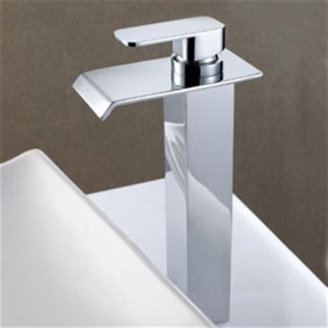 taps for kitchen sinks contemporary solid brass waterfall bathroom sink tap 6006