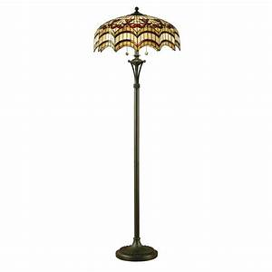 64373 vesta tiffany floor lamp for Vesta tiffany floor lamp