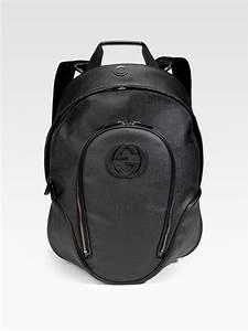 c4cab7d9133 Gucci Black Plus Backpack in Black for Men