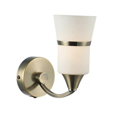dub0775 led dar antique brass wall light dublin 1 light led