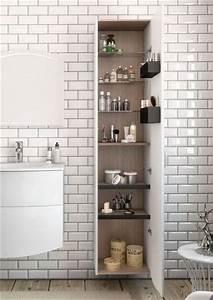 carrelage metro blanc ou noir on aime les deux With carrelage metro pour salle de bain