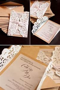 simple burlap and lace wedding invitations the i do moment With wedding invitations wrapped in lace