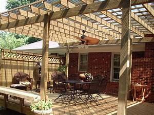 Ventiladores de techo para terrazas y pérgolas
