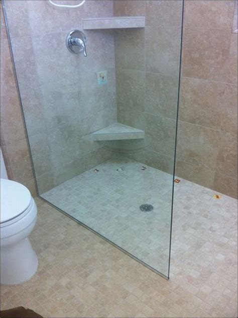 walk in shower without door bathroom ideas