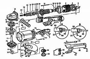 Dewalt 7 U0026quot  Angle Grinder Parts
