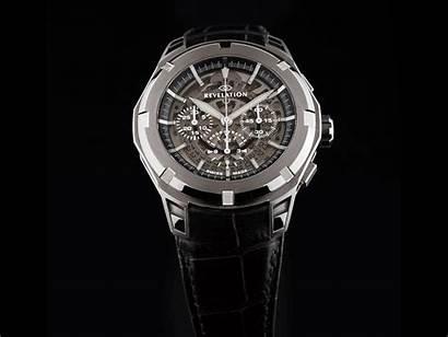 Revelation R03 Chronograph Watches Chronographe Steel Inaugurates