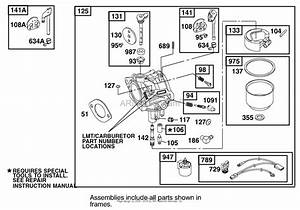 3hp Brigg Stratton Lawn Mower Carburetor Diagram