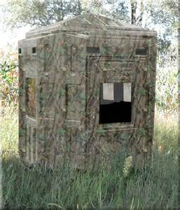 Deer Hunting Box Blinds