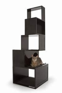 Arbre A Chat Moderne : 9 arbres chat design esth tiques ~ Melissatoandfro.com Idées de Décoration