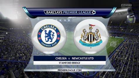 Chelsea FC vs Newcastle United   10.01.2015   Barclays ...