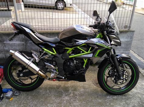 Z250sl Image by Z250slにbms R R Evo スリップオンを装着 Materialz Zundaとオートバイたちとの記録