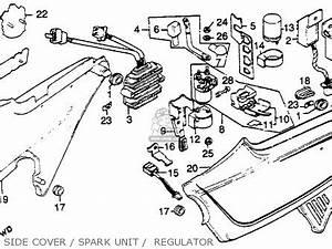 honda cb750k 750 four k 1980 a usa parts list With 1980 honda cr v
