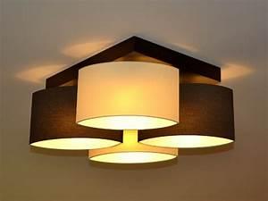 Deckenlampe Deckenleuchte Lampe Leuchte 4 flammig Edles
