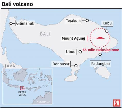 flee  bali volcano eruption fears bt