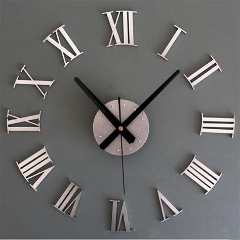 pendule moderne cuisine luxury diy 3d wall clock large size surface home