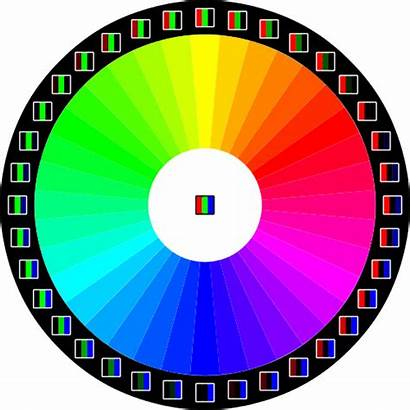 Rgb Wheel Colors Wikipedia Pixels Svg Led