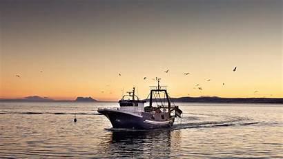 Fishing Boat Desktop Wallpapers Background Saltwater Offshore