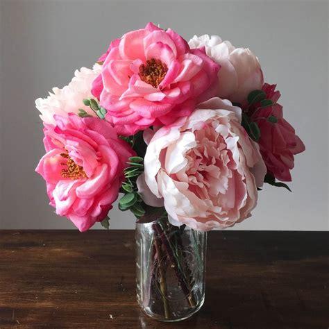 tips   fake flowers  greenery   arrange
