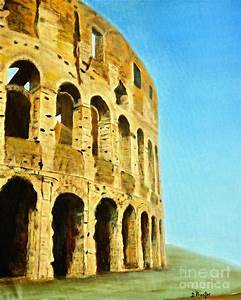 The Roman Colosseum by Donna Proctor