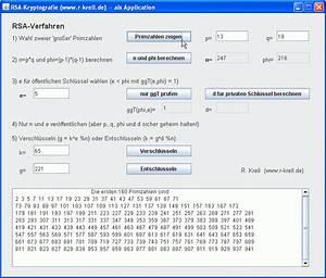 Primzahlen Berechnen Java : r java teil k kryptologie ii einweg asymmetrie diffie hellman rsa digitale ~ Themetempest.com Abrechnung