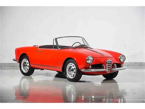 Classic Alfa Romeo For Sale On Classiccars.com