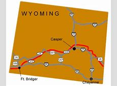 Fort Bridger Mormon Pioneer National Historic Trail US